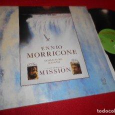 Discos de vinilo: THE MISSION BSO OST ENNIO MORRICONE LP 1986 VIRGIN SPAIN . Lote 128562363