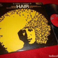 Discos de vinilo: HAIR BSO OST MUSICAL WINTOUR&WHITMORE LP 1969 SINTONIA SPAIN . Lote 128562727