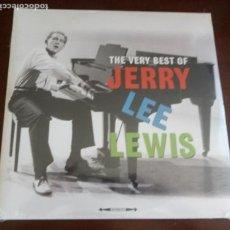 Discos de vinilo: JERRY LEE LEWIS - THE VERY BEST - DOBLE 2.LP - NUEVO SIN ABRIR. Lote 128564747