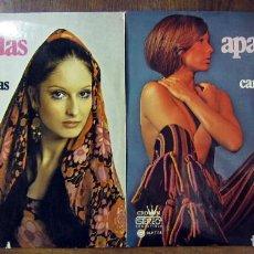 Discos de vinilo: LAS MAS APASIONADAS Y MEJORES CANCIONES LATINAS, VOL. 1 Y 2 - 1973 - TOSHIYUKI MIYAMA & NEW HERD. Lote 128570719