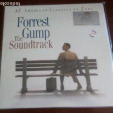 Discos de vinilo: FORREST GUMP - DOBLE 2.LP - BSO - NUEVO SIN ABRIR. Lote 128571579