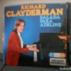 Discos de vinilo: RICHARD CLAYDERMAN - BALADA PARA ADELINE. Lote 128574127