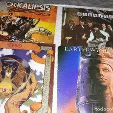 Discos de vinilo: LOTE DE 4 DISCOS DIO,EARTH WIND &FIRE.ROCKSLIPSIS,MADNESS. Lote 128575495