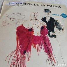Discos de vinilo: DISCO DE VINILO LA VERBENA DE LA PALOMA . Lote 128575839