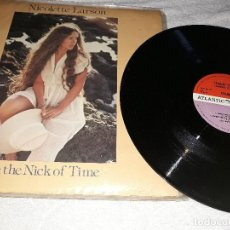 Discos de vinilo: LOTE 2 DISCOS DE VINILO STANLEY CLARKE.NICOLETTE LARSON IN THE NICK OF TIME.. Lote 128576091
