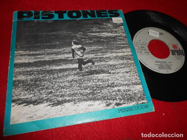 PISTONES PERSECUCION/GALAXIA 7'' SINGLE 1984 ARIOLA SPAIN (Música - Discos - Singles Vinilo - Grupos Españoles de los 70 y 80)
