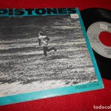 Discos de vinilo: PISTONES PERSECUCION/GALAXIA 7'' SINGLE 1984 ARIOLA SPAIN. Lote 128583215