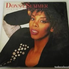 Discos de vinilo: DONNA SUMMER THIS TIME I KNOW ITS FOR REAL WHATEVER YOUR HEART DESIRES. Lote 128583699