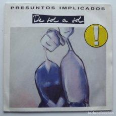 Discos de vinilo: 199 LP, PRESUNTOS IMPLICADOS, DE SOL A SOL, WEA RECORDS. Lote 128594583