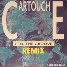 Discos de vinilo: CARTOUCHE - FEEL THE GROOVE - MAXI-SINGLE MAX MUSIC 1990. Lote 128598087