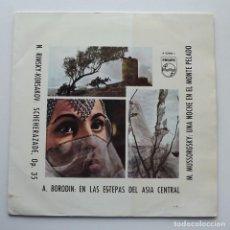 Discos de vinilo: LP RIMSKY-KORSAKOV, BORODIN, MUSSORGSKY, PHILLIPS A 03006 L. Lote 128600283