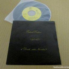 Discos de vinilo: ESTADO CRITICO - NAVIDAD HIP HOP / CHRISTMAS JAM HOP + DONDE ESTAS NAVIDAD -SINGLE- TROYA 1989. Lote 128604275