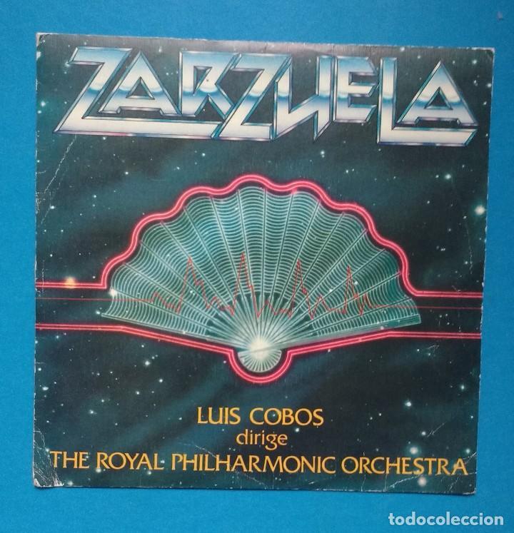 ZARZUELAS - LUIS COBOS DIRIGE THE ROYAL PHILHARMONIC ORCHESTRA (Música - Discos - Singles Vinilo - Clásica, Ópera, Zarzuela y Marchas)