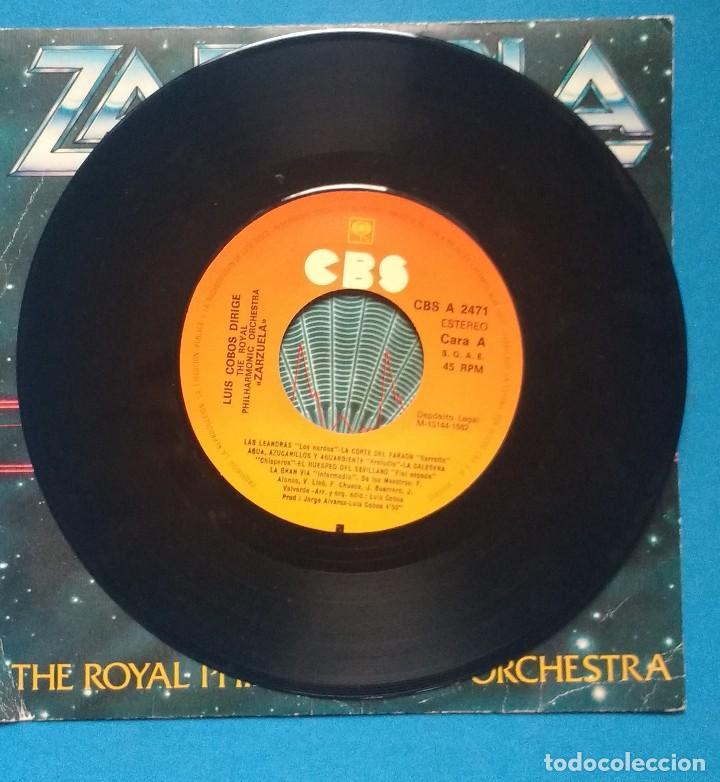 Discos de vinilo: ZARZUELAS - LUIS COBOS DIRIGE THE ROYAL PHILHARMONIC ORCHESTRA - Foto 2 - 128607811