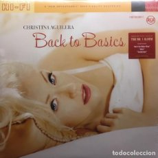 Discos de vinilo: CHRISTINA AGUILERA - BACK TO THE BASICS - DOBLE VINILO - A ESTRENAR - DESCATALOGADO. Lote 128610503