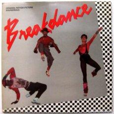 Discos de vinilo: VARIOS (BAR-KAYS/RUFUS/CHAKA KHAN...) - BREAKDANCE - LP POLYDOR 1984 BPY. Lote 128630483