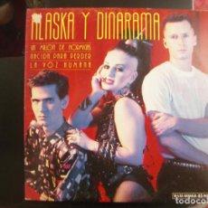 Discos de vinilo: ALASKA Y DINARAMA- UN MILLÓN DE HORMIGAS. MAXISINGLE. Lote 128632723