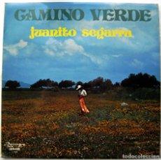 Discos de vinilo: JUANITO SEGARRA - CAMINO VERDE - LP OLYMPO 1976 BPY. Lote 128640647