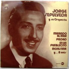 Discos de vinilo: JORGE SEPULVEDA Y SU ORQUESTA - JORGE SEPULVEDA Y SU ORQUESTA - LP REGAL 1971 BPY. Lote 128641643