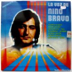 Discos de vinilo: NINO BRAVO - LA VOZ DE NINO BRAVO - LP POLYDOR 1980 BPY. Lote 128641891