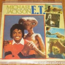 Discos de vinilo: MICHAEL JACKSON - E.T. - LP RARISIMO. Lote 128649804