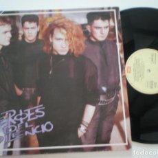 Discos de vinilo: HEROES DEL SILENCIO - HEROE DE LEYENDA - MINI LP EMI SERIE FAMA 1987 // HDS ENRIQUE BUNBURI. Lote 128651207