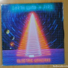 Discos de vinilo: EARTH WIND & FIRE - ELECTRIC UNIVERSE - GATEFOLD - LP. Lote 128652898