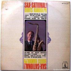 Discos de vinilo: BOOTS RANDOLPH - SAX-SATIONAL - LP MONUMENT 1969 BPY. Lote 128658399