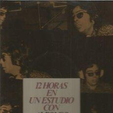 Discos de vinilo: ALFONSO SANTIESTEBAN 12 HORAS. Lote 128663811
