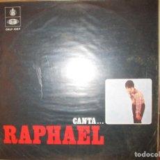 Discos de vinilo: CANTA...RAPHAEL ( VENEZUELA ) YOSOY AQUEL // POCO A POCO // ESTUVE ENAMORADO // EL TORERO //. Lote 128664107