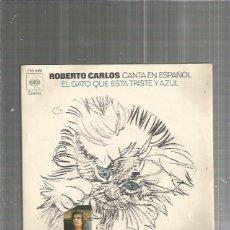 Discos de vinilo: ROBERTO CARLOS EL GATO. Lote 128664267