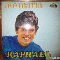 Discos de vinilo: RAPHAEL AVE MARIA (VENEZUELA ) EL GOLFO // EL AMOR ES AZUL // MARIA CARNAVAL //HOY NO PIENSO IGUAL. Lote 128664335