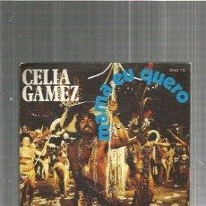 Discos de vinilo: CELIA GAMEZ MAMA EU QUERO. Lote 128664399