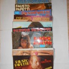 Discos de vinilo: FAUSTO PAPETTI - SAX . Lote 128664431