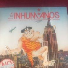 Discos de vinilo: LOS INHUMANOS NO PROBLEM LP 1990 MADE IN SPAIN. Lote 128664528
