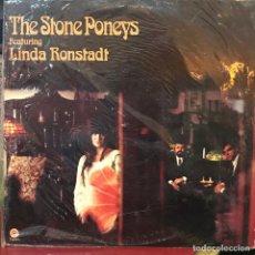 Discos de vinilo: LP ESTADOUNIDENSE DE THE STONE PONEYS AÑO 1967 REEDICIÓN 1975. Lote 128669247