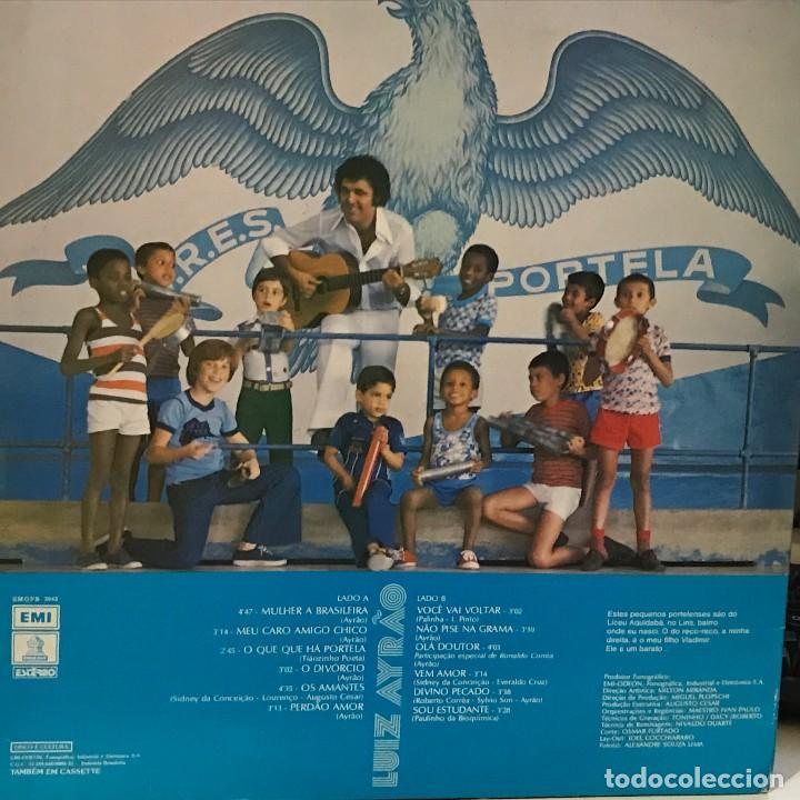 Discos de vinilo: LP brasileño de Luiz Ayrão año 1977 - Foto 2 - 128669883