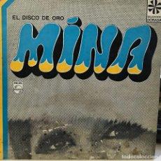 Discos de vinilo: LP ARGENTINO Y RECOPILATORIO DE MINA AÑO 1968. Lote 128670679