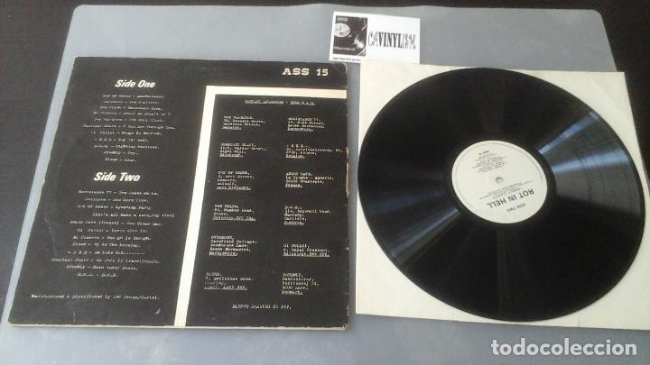Discos de vinilo: Rot In Hell LP Rot Records ?– ASS 15 - Edición Limitada - Foto 3 - 128673675