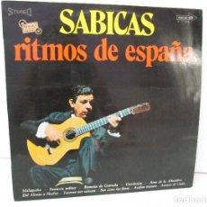 Discos de vinilo: SABICAS. RITMOS DE ESPAÑA. LP VINILO. 1970. VER FOTOGRAFIAS ADJUNTAS. Lote 128677327