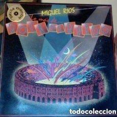 Discos de vinilo: MIGUEL RÍOS – LO MAS DE... ROCK EN EL RUEDO - LP SPAIN 1985. Lote 128677871