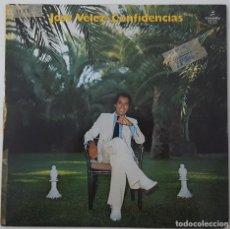 Discos de vinilo: LP - JOSE VELEZ - CONFIDENCIAS - PROMO. Lote 128683903