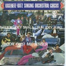 Discos de vinilo: KASENETZ-KATZ SINGING ORCHESTRAL CIRCUS / QUICK JOEY SMALI / (POOR OLD) MR.JENSEN (SINGLE 1968) . Lote 128685471