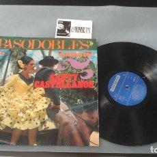 Discos de vinilo: SANTY CASTELLANOS - PASODOBLES LP VERGARA 7.090-N 1969 RARO. Lote 128687103