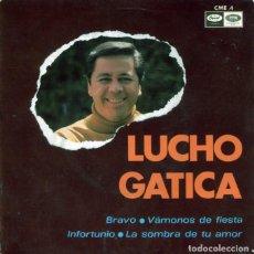 Discos de vinilo: LUCHO GATICA / VAMONOS DE FIESTA + 3 (EP 1967). Lote 128687335