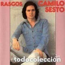 Discos de vinilo: CAMILO SESTO - RASGOS LP CARPETA ABIERTA CON FOTO INTERIOR 1977. Lote 128693103