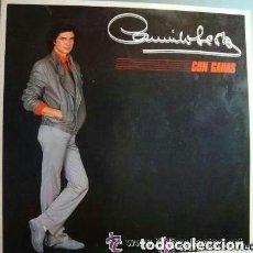 Discos de vinilo: CAMILO SESTO, CON GANAS, LP SPAIN. Lote 128693731