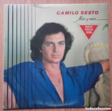 Discos de vinilo: CAMILO SESTO - MAS Y MAS - LP ARIOLA REEDICION 1982. Lote 128693835