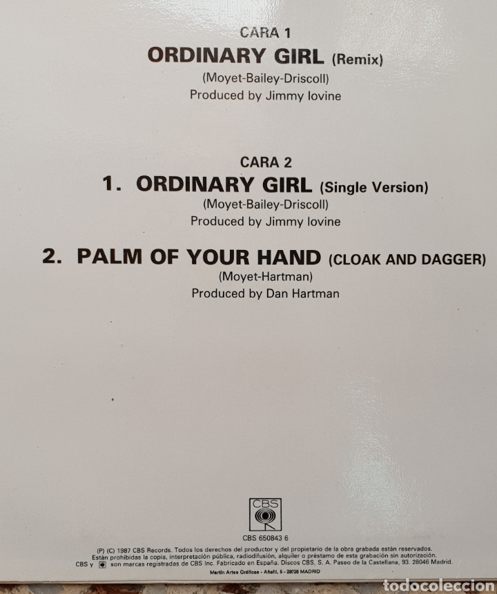 Discos de vinilo: Maxi single Alison Moyet Ordinary girl - Foto 2 - 128699256