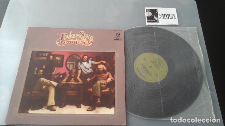 THE DOOBIE BROTHERS ?– TOULOUSE STREET LP WARNER BROS. RECORDS ?– HWBS 321-37 (Música - Discos - LP Vinilo - Pop - Rock - Extranjero de los 70)